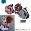 Lovely Mini dog print backpack pattern