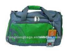 New Cheap High Quality Green Sports Travel Bag or indoor practical sports gym bag