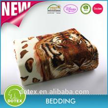 animal leopard print coral fleece wholesale korean mink blankets