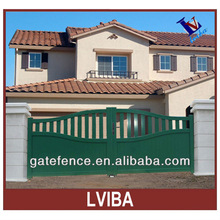 rail sliding gate about Aluminium main gates ,entrance gates design Likeness PVC Folding Door