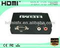 De audio vga+analog a hdmi con convertidor hdmi 1280x1024 resolución
