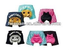 2012 Hot baby shorts! i do not cry baby shorts ,100% cotton kids shorts,SZ1-3Y bottom pants ,6 style ,18pcs/lot