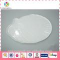 Solid gravada placas melamina pratos; grandes placas de jantar; louça da melamina conjuntos