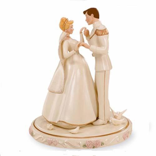 Polyresin Cinderella Wedding Cake Toppers