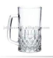 HOT SALE 2012 540ml clear glass mug for paint