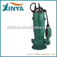 XINYA QDX electric 1hp single phase sewage drainage water motor pump price of 1hp(QDX15-10-0.75)