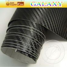 auto car wrap 3D car carbon folie air bubbles free channels using 3M glue
