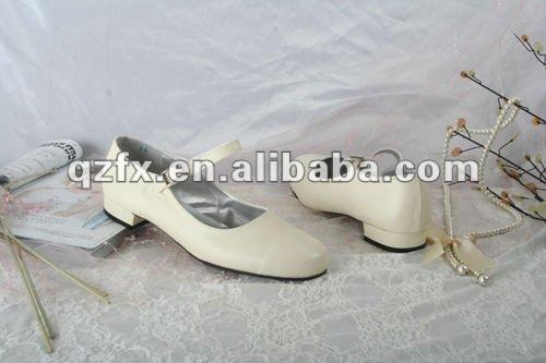 2013 flor de menina de sapatos de casamento c10 sapato 10003