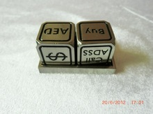 25MM metal dices