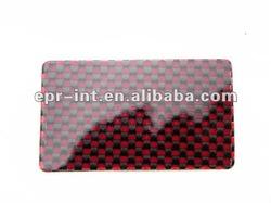 Business Card Plate Carbon Fiber Veneers
