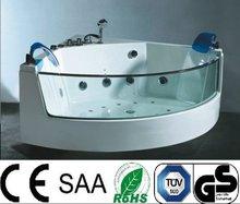 Fashionable glass sitting bathtub(A053)