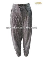 Super big women's viscose Harem pants