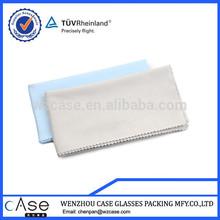 Custom logo printed microfiber eyeglasses cleaning cloth in bulk
