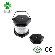 Dry battery powered Foldable LED camping lantern Portable mini camping light popular led emergency lantern