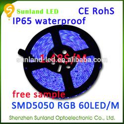 3years warranty RGB 72w IP68 CE ROHS led strip 5050 warm white 12v ip44 paypal