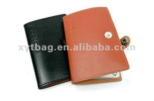 High leather business plat card holder/case