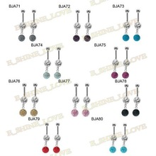 Latest Body Jewelry 316L Surgical Stainless Steel Belly Button Rings Piercing BJAmix8