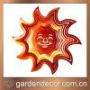 "10"" Decorative Sun Metal Wind Spinner"