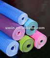 Alta calidad barato colchonetas de gimnasia para la venta de yoga tpe antideslizante esteras
