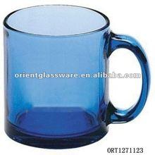 300ml blue drinking glass