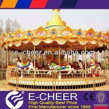 Hot Popular Children Fun Amusement Park Equipment Carousel Merry go round