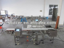 Metal detector & Checkweigher Combo with rejection system