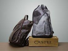 2014 Fashon & Hot Genuine Leather High Quality men designer backpack