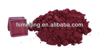 glass mosaic maroon red pigment or glaze stain