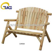 Granco GW010 Outdoor furniture Wooden Log bench