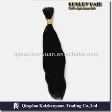 Wholesale unprocessed human hair High quality virgin braziliian hair bulk,100%humain hair