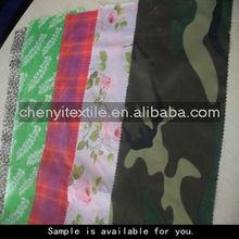 190T printed fabrics textile