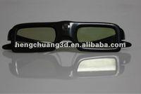 popular active shutter 3d glasses 3d dlp all TV glasses