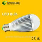 2014 new hot sale led bulb color temperature adjustable 3w led warm white