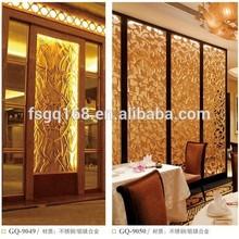 restaurant room divider for Hotel or House