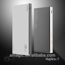 6000mAh Pastel Color Portable Charger, External Battery, Slim Power Bank