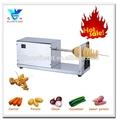 Máquina de batata chips na venda, espiral de batata chip que faz a máquina