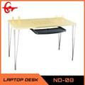 مكتب تصميم طاولة كمبيوتر 2014 الحديثة mdf طاولة الكمبيوتر الكمبيوتر المكتبية الخشبية nd-08 صور