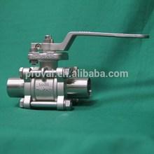 Gas quick release brass ball valve