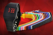 Hot sale wrist watch , altra thin touch screen LED watch, vogue watch