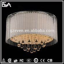 Modern crystal pendant lamp & silver pendant light