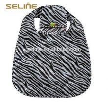 New recycle fashion design nylon foldable shopping tote bag