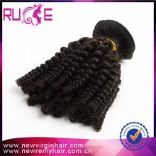 100% virgin brazilian curly weave afro kinky human hair