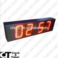 Dot Matrix Display High Brightness Table Timer Small LED Digital Clock