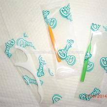 high quality dental floss pick, FDA certification, easy dental flosspick