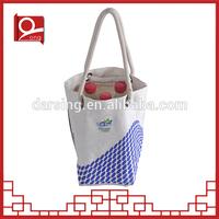 New design rectangular canvas shopping bag