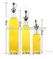 claro o decorativeolive botella de aceite