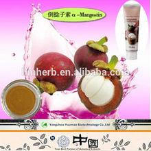 natural herbal medicine mangosteen extract powder, alpha-mangostin anti-oxidant