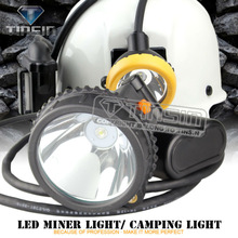 Waterproof rechargeable led miner light with approved CE RoHS