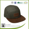 Wholesale manufacturer blank 5 panel cap