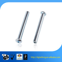 Galvanized truss hex socket head female screws